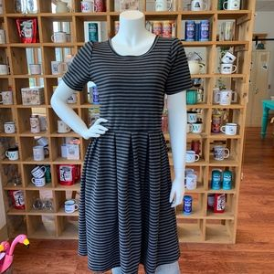 NWT LuLaRoe Striped Amelia Dress